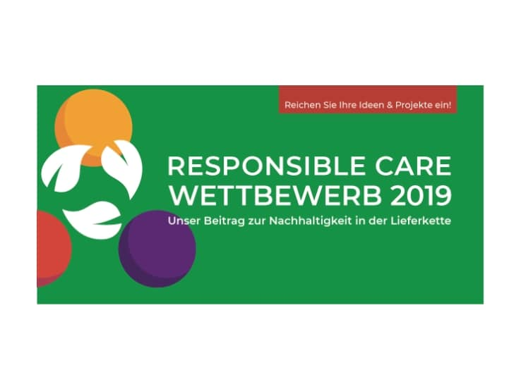 Karte Responsible Care Wettbewerb 2019