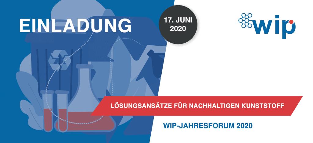 Cover WIP Jahresforum 2020